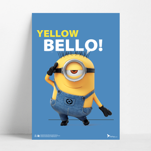 B2 Poster - Yellow Bello! - Despicable Me/Minions