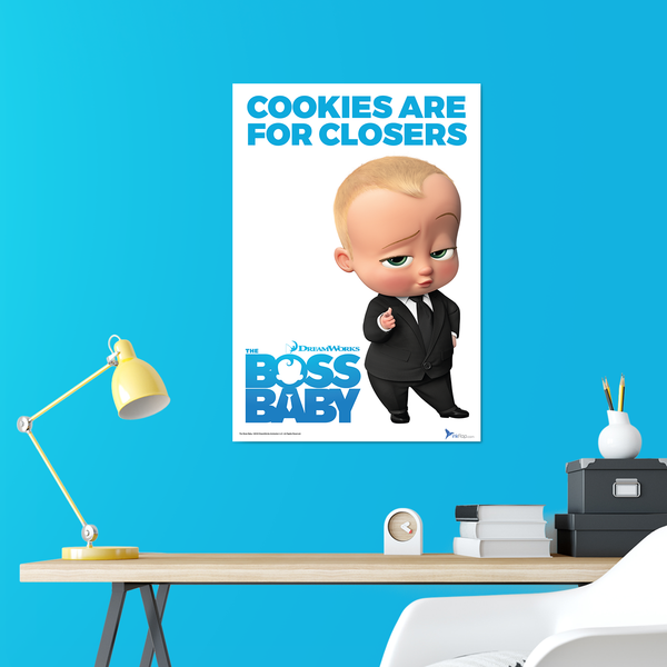 B2 Poster - Cookies Are For Closers - Boss Baby