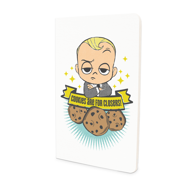 Thin Notebook - Love Cookies - Boss Baby