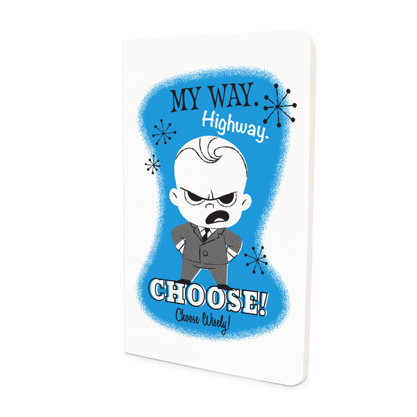 Thin Notebook - My Way - Boss Baby