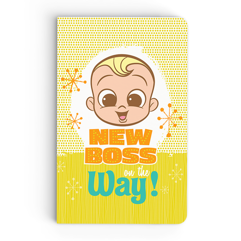 Thin Notebook - On The way - Boss Baby