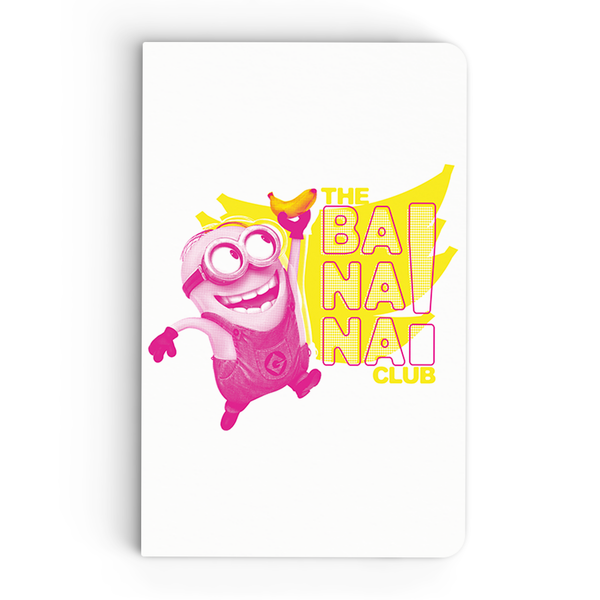Thin Notebook - The Banana Club 2 - Despicable Me/Minions