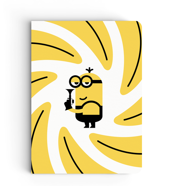 Notebook - Love for Bananas - Despicable Me/Minions