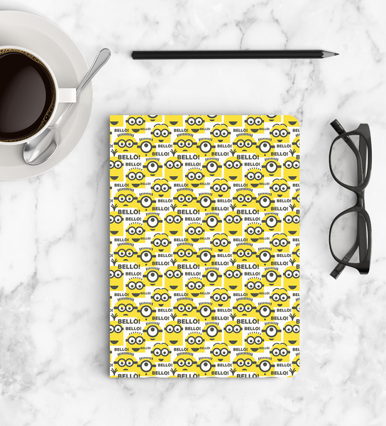 Notebook - Bello PT - Despicable Me/Minion