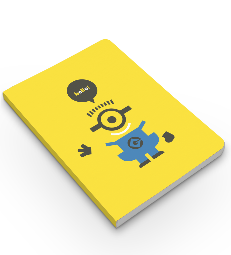 Flapbook Bello Despicable Meminions Inkflap Store