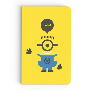 Thin Notebook - Bello - Despicable Me/Minions