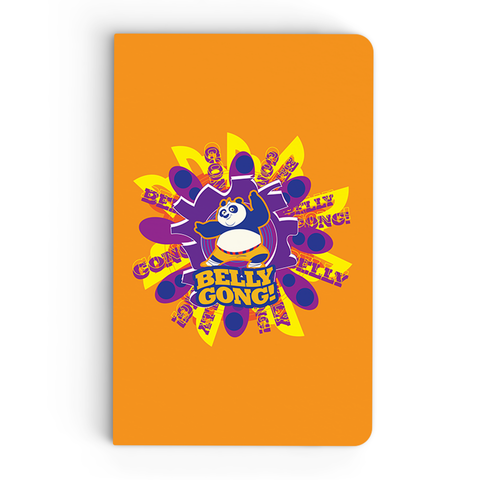 Thin Notebook - Belly Gong - Kung Fu Panda