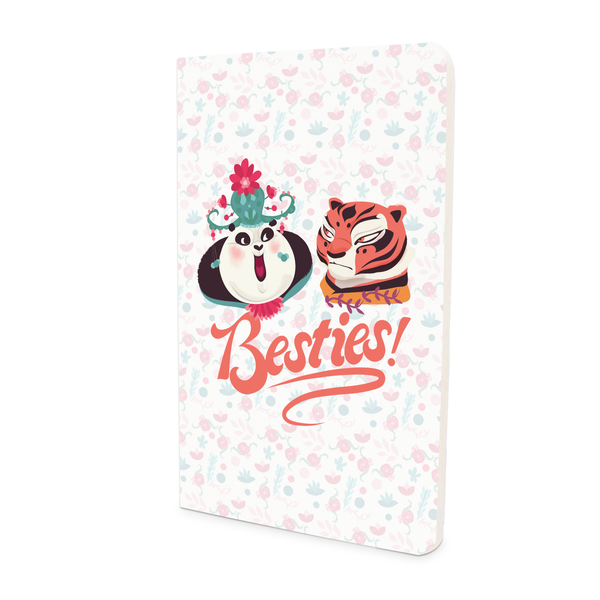 Thin Notebook - Besties Art - Kung Fu Panda