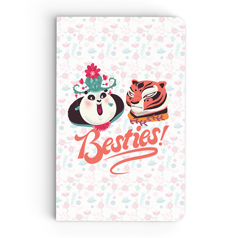 Flapbook Thin - Besties Art - Kung Fu Panda