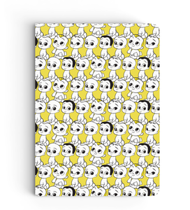 Notebook - Babies Pattern - Boss Baby