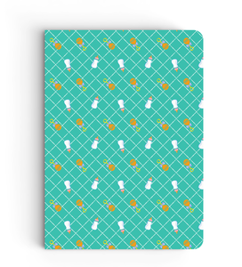 Notebook - Bottles Pattern - Boss Baby