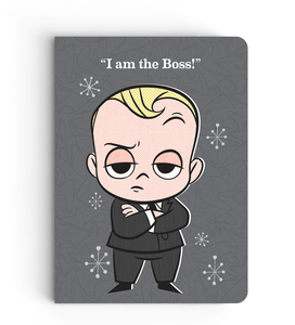 Notebook - I'm The Boss - Boss Baby