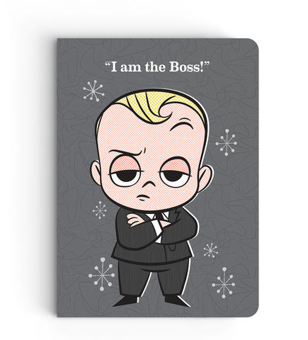 Softbound Notebook Boss Baby