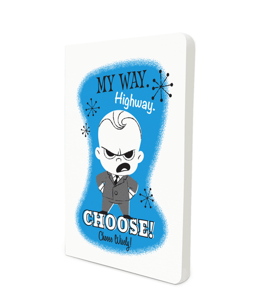 Notebook - My Way - Boss Baby