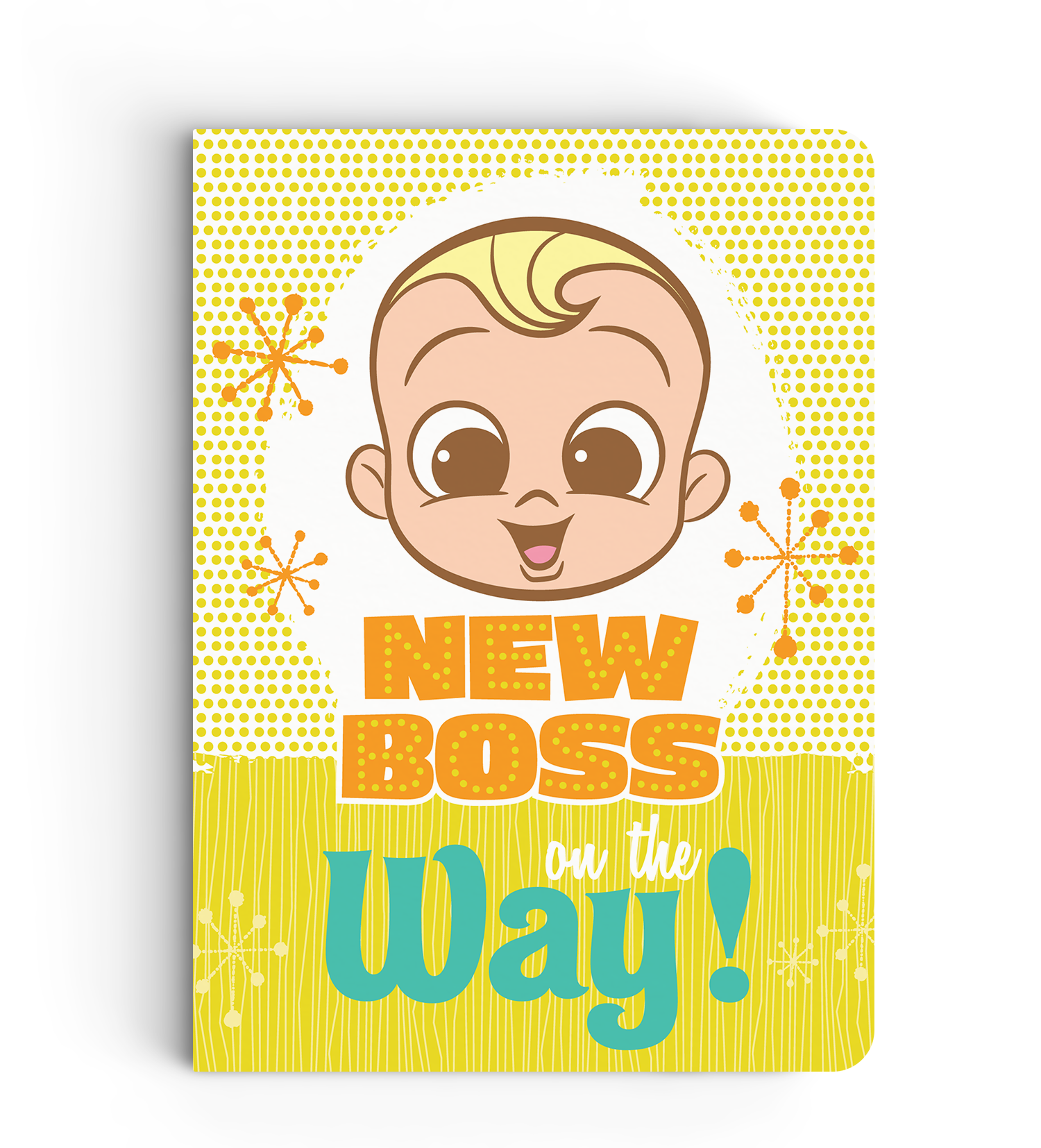 Notebook - On The Way - Boss Baby