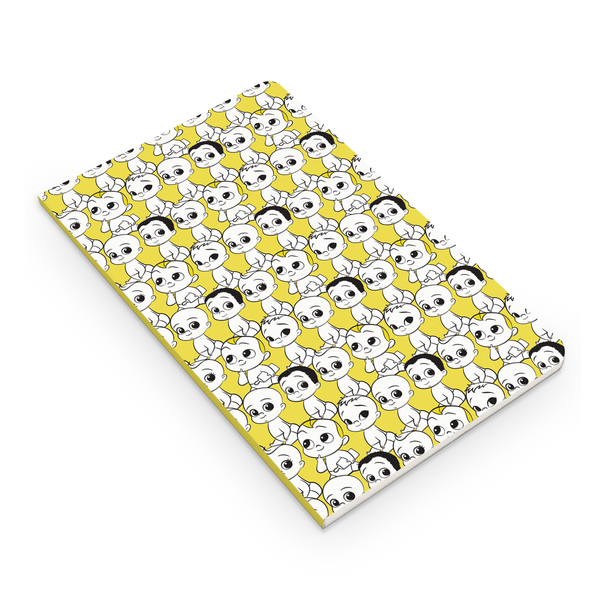 Flapbook Thin - Babies Pattern - Boss Baby