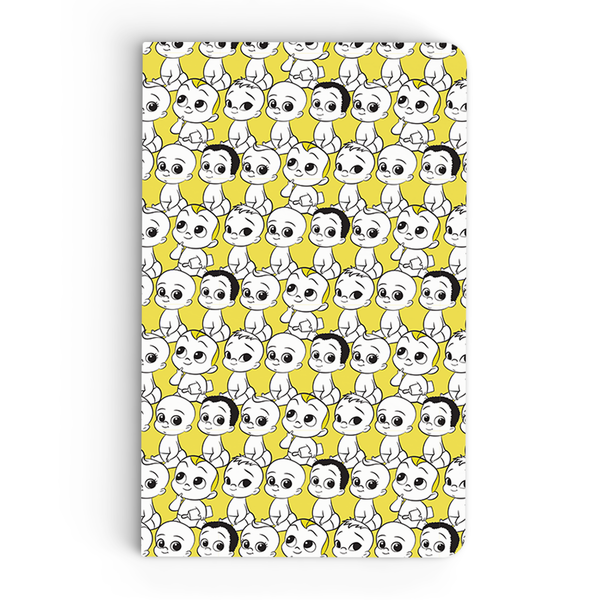 Thin Notebook - Babies Pattern - Boss Baby