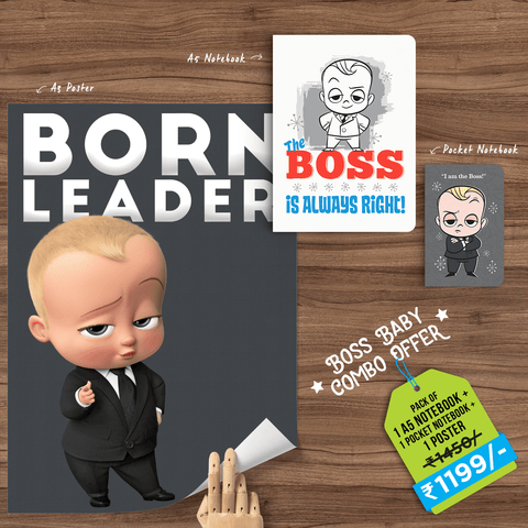 Boss Baby Combo - With Special Snowing® Effects - Boss Baby