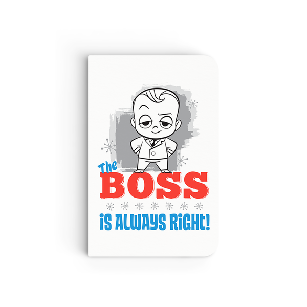 Flapbook Mini - Boss's Always Right - Boss Baby
