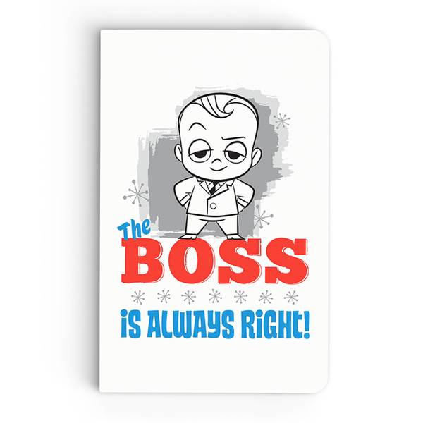 Flapbook Thin - Boss's Always Right - Boss Baby