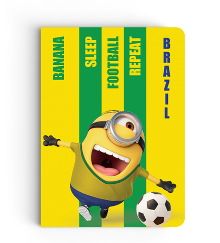 Limited Edition Notebook - Brazil - Despicable Me/Minion