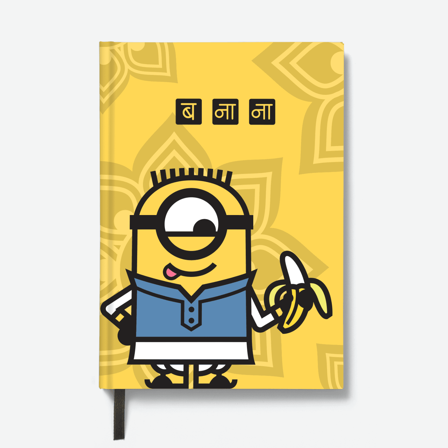 Hardbound Notebook - Carl with Banana - Despicable Me/Minions