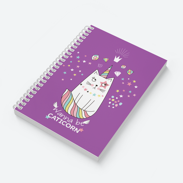 Happy Unicorn & Caticorn Combo - Pack of 2 - Wiro Notebooks