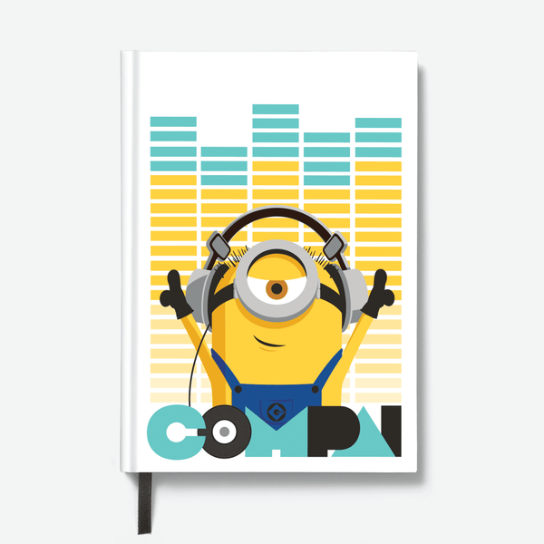 Hardbound Notebook - Compai/Cheers - Despicable Me/Minions