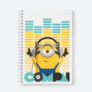 Wiro Notebook - Compai/Cheers - Despicable Me/Minions