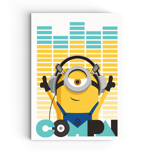 Notebook - Compai/Cheers - Despicable Me/Minions