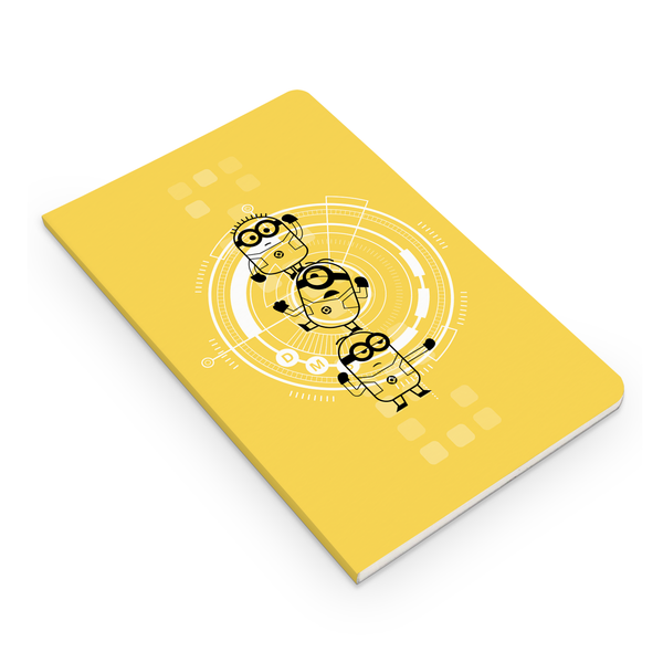 Thin Notebook - Minions Flat Stack - Despicable Me/Minions