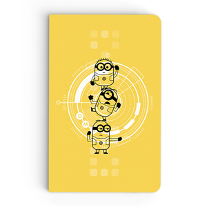 Flapbook Thin - Minions Flat Stack - Despicable Me/Minions