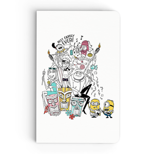 Thin Notebook - Best Family Ever - Despicable Me/Minions