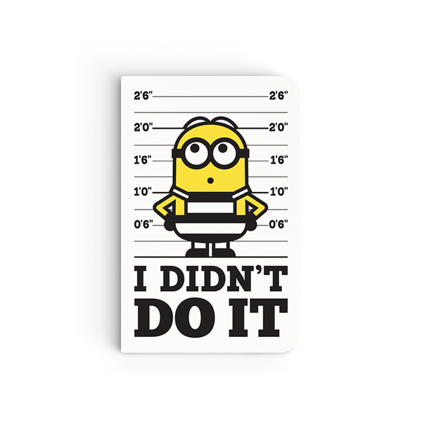 Flapbook Mini - I Didn't Do It - Despicable Me/Minions
