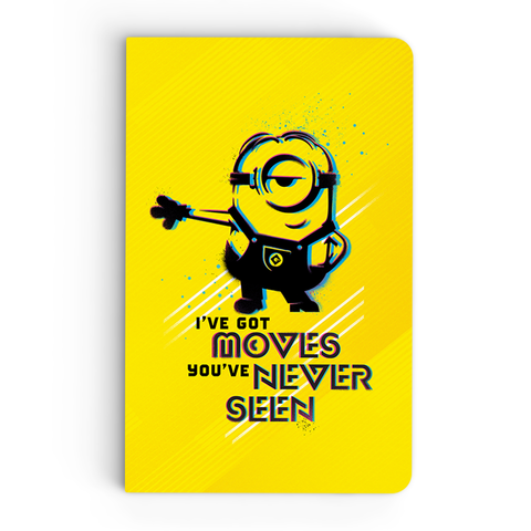 Thin Notebook - I've Got Moves - Despicable Me/Minions