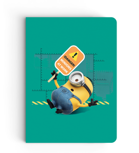 Notebook - Danger! Minions At Work - Despicable Me/Minions