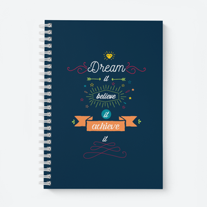 Dream It - Wiro Quote Notebooks
