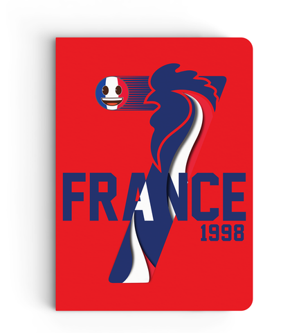 Limited Edition Notebook - France - Emoji Soccer Edition