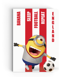 Limited Edition Notebook - England - Despicable Me/Minion