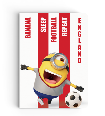 Flapbook Limited Edition - England - Despicable Me/Minion