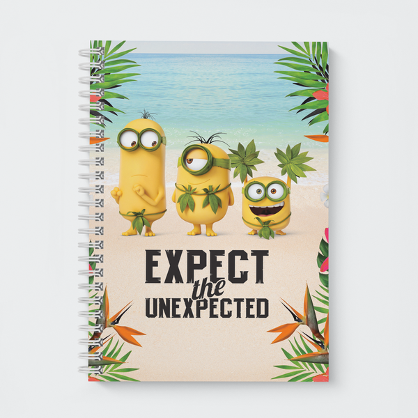 Wiro Notebook - Expect the Unexpected - Despicable Me/Minions