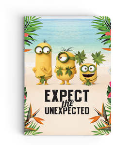 Notebook - Expect the Unexpected - Despicable Me/Minions