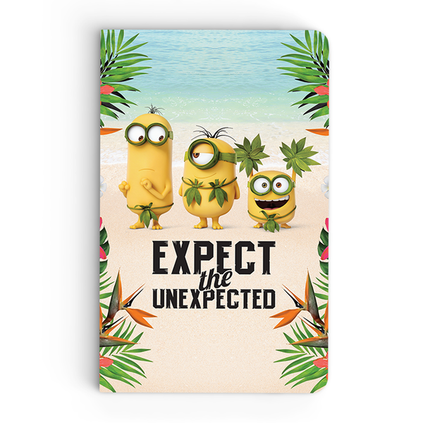 Thin Notebook - Expect the Unexpected - Despicable Me/Minions