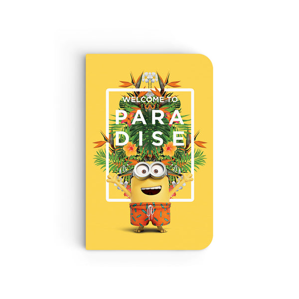 Flapbook Mini - Welcome to Paradise - Despicable Me/Minions