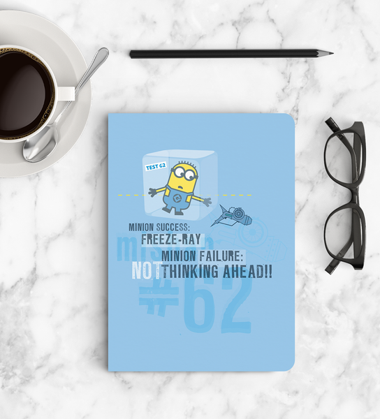 Notebook - Freeze Ray - Despicable Me/Minions