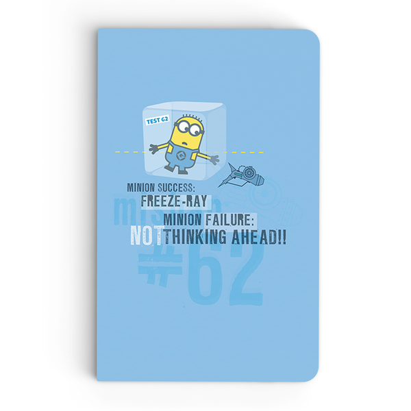 Thin Notebook - Freeze Ray - Despicable Me/Minions