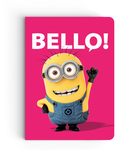 Notebook - Friendly Bello - Despicable Me/Minion