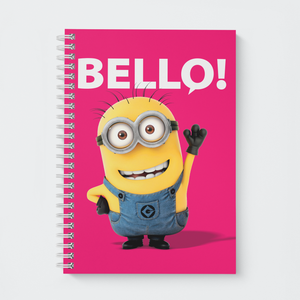 Wiro Notebook - Friendly Bello - Despicable Me/Minions