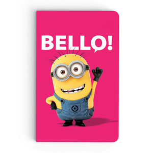 Thin Notebook - Friendly Bello - Despicable Me/Minions