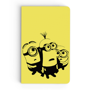 Thin Notebook - Frightened Minions - Despicable Me/Minions
